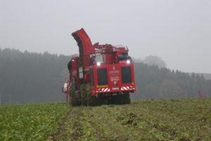 """Beim """"Hundegang"""" laufen die Achsen versetzt zueinander (Foto: Südzucker AG)"""