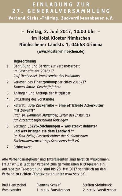arge zeitz news – seite 2 – bisz, Einladung